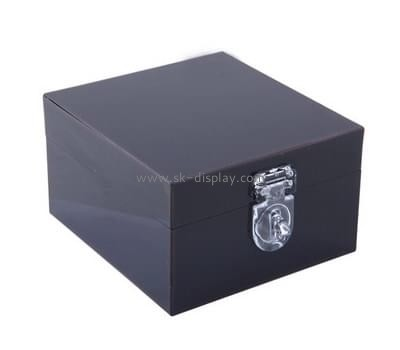 Acrylic manufacturers custom acrylic storage boxes with lids DBS-615