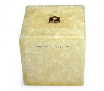 Plastic manufacturing companies custom acrylic square box DBS-623