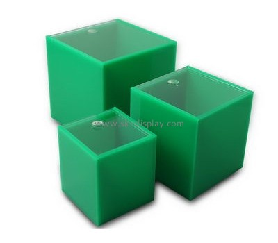 Acrylic products manufacturer custom made acrylic box DBS-627