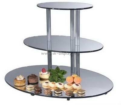 China acrylic manufacturer custom lucite cheap cupcake stands FD-097