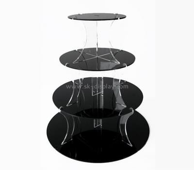Acrylic manufacturers china custom perspex cupcake tier stands FD-098
