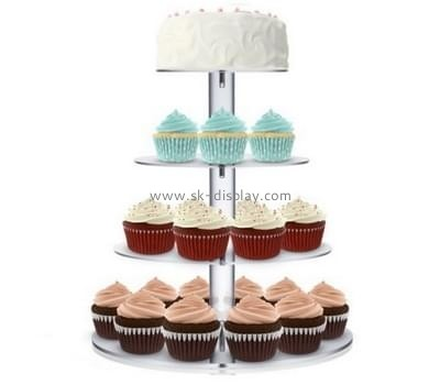Acrylic plastic supplier custom perspex cake cupcake stand FD-103