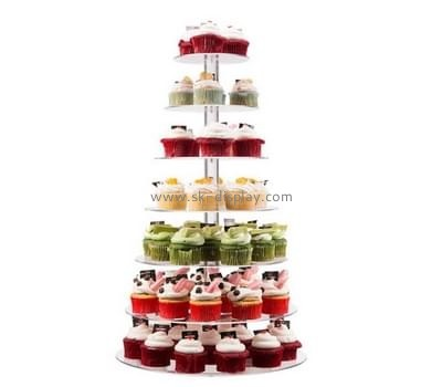 Acrylic supplier custom lucite tree cupcake stand FD-107