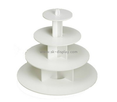 Complete plastic fabricators custom acrylic homemade cupcake stand FD-116