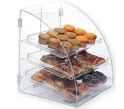 Lucite manufacturer custom acrylic food display case FD-137