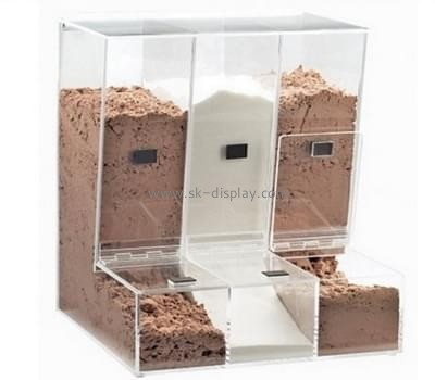 Acrylic manufacturers china custom clear acrylic containers cabinets FD-143