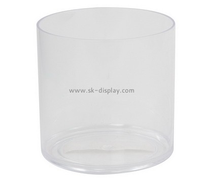 Acrylic products manufacturer custom acrylic container round box FD-147