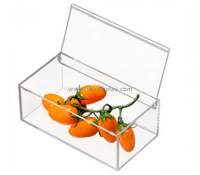 Plastic box manufacturers custom acrylic food containers FD-156