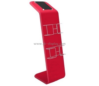 Acrylic manufacturers china custom lucite retail display stands SOD-237