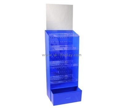 Acrylic supplier custom perspex retail display cabinets SOD-246