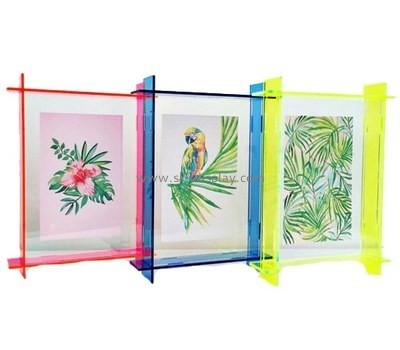 Acrylic display manufacturers custom acrylic picture frames SOD-309