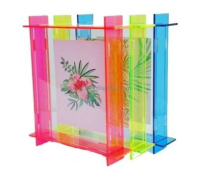 Acrylic products manufacturer custom lucite cheap picture frames SOD-310