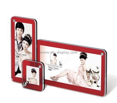Display stand manufacturers custom acrylic picture photo frame SOD-318