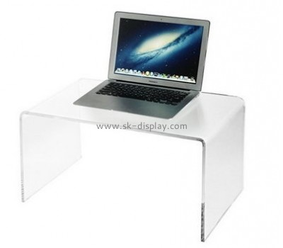 Acrylic plastic supplier custom lucite laptop table AFS-332
