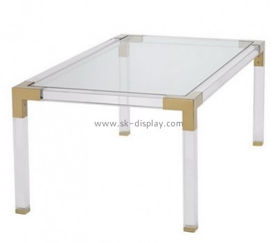 Acrylic display manufacturers perspex square coffee table AFS-347