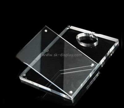 Custom and wholesale acrylic ipad table mount holder stand PD-183