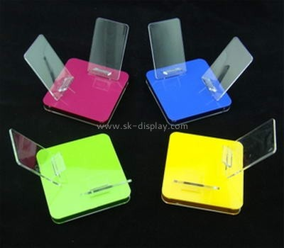 Custom and wholesale acrylic mobile phone shop display PD-196