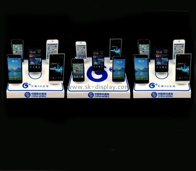 Custom and wholesale acrylic mobile display DBK-201