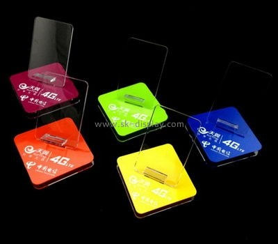 Customized acrylic phone stand for retail display PD-228