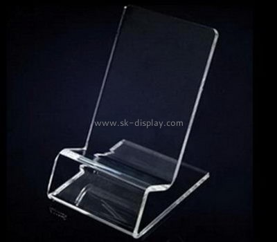 Customized acrylic cell phone holder for desk PD-230
