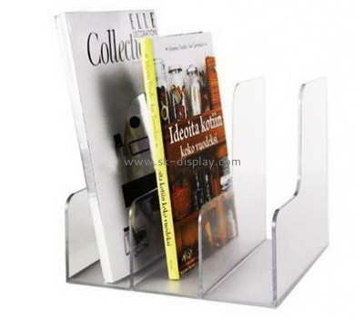 Customized acrylic magazine holder BD-073