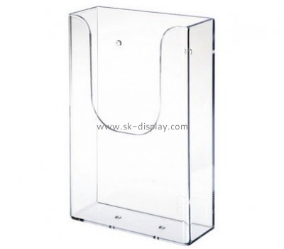 Customized perspex magazine rack BD-079