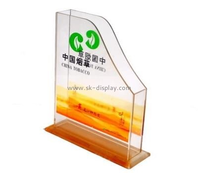 Customized magazine holder acrylic BD-083