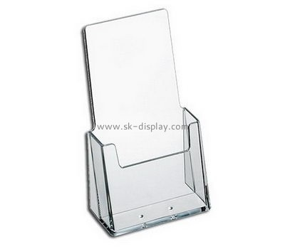 Customized perspex clear brochure holders BD-106