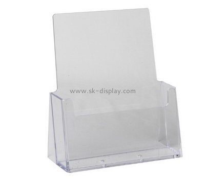 Customized perspex brochure stands for trade shows BD-117