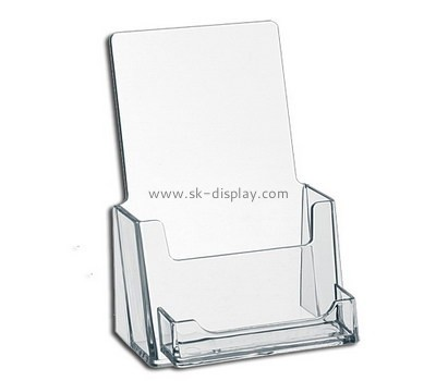Customized plexiglass single brochure holder BD-131