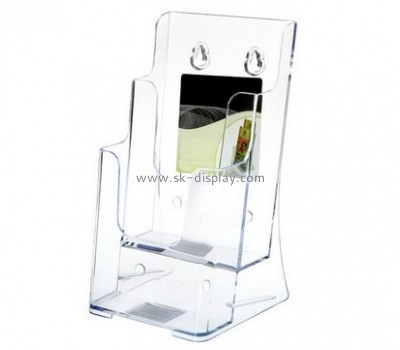 Customized plexiglass wall literature holders BD-140
