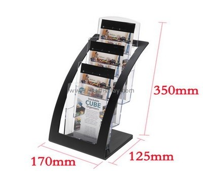 Customized acrylic free standing brochure holders BD-189