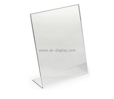 Customized clear acrylic sign holder BD-235