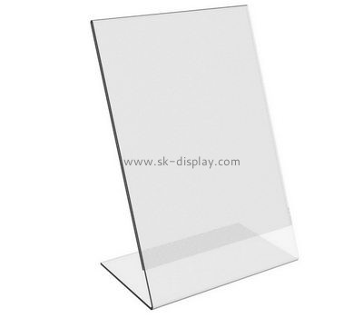 Customized clear acrylic signage holder BD-248