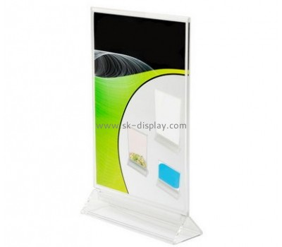 Customized table top acrylic sign display BD-249