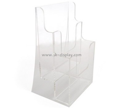 Customized clear acrylic catalog holders BD-295