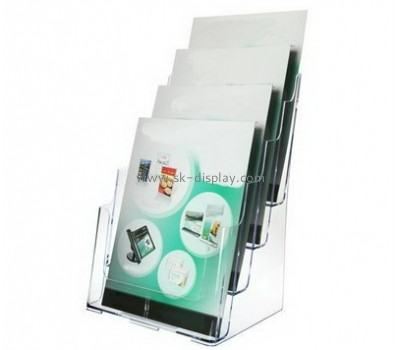 Customized clear acrylic brochure holders BD-321