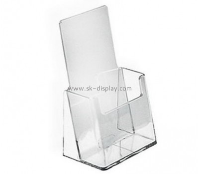 Customized clear perspex leaflet holders BD-345