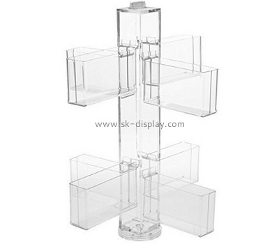 Customized clear acrylic leaflet display stand BD-351