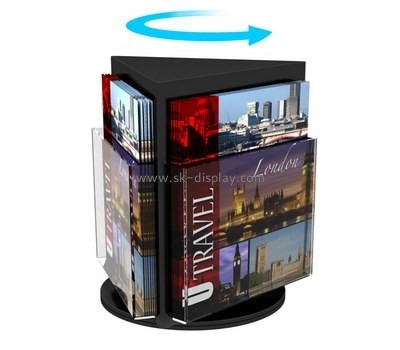 Customized lucite brochure display stands BD-350