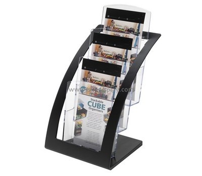 Customized lucite literature display racks BD-352