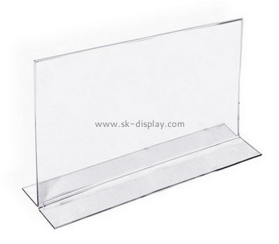 Bespoke clear acrylic sign holders BD-453