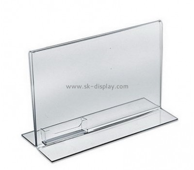 Bespoke acrylic poster sign holders BD-467
