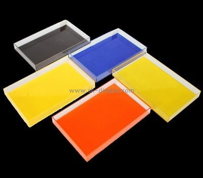 Bespoke acrylic catering serving trays STS-027