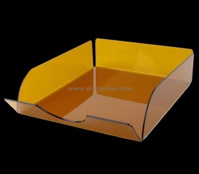 Bespoke brown perspex tray STS-026