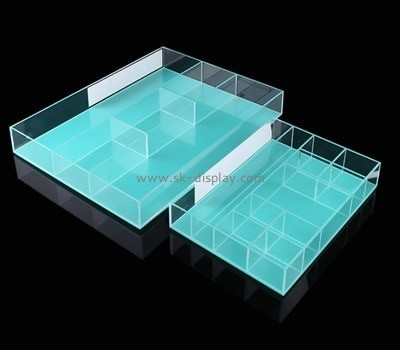 Bespoke acrylic divided serving tray STS-032