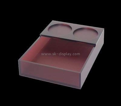 Bespoke brown lucite tray STS-037