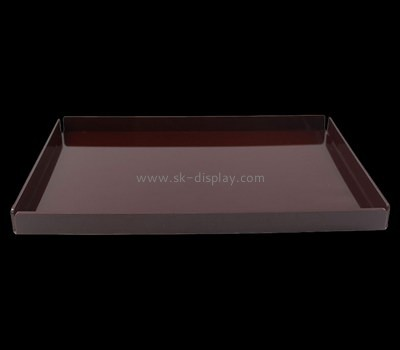 Bespoke brown large plastic tray STS-039