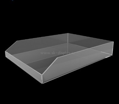 Bespoke clear acrylic serving tray STS-064