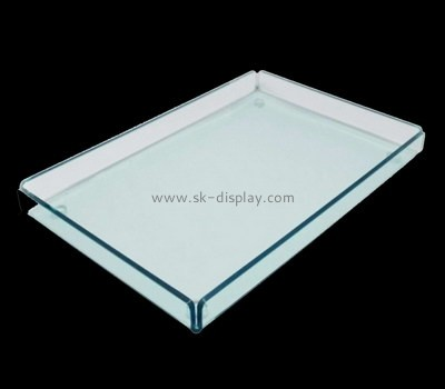 Bespoke clear lucite tray STS-065